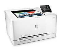 Принтер лазерный цветной A4 HP Color LaserJet Pro M252dw (B4A22A), White, WiFi, 600x600 dpi, дуплекс, до 18 стр/мин, сенсорный ЖК-экран 7.6 см, печать