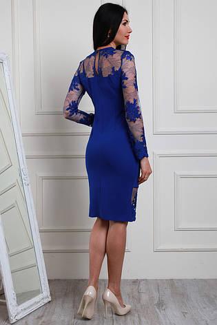 ae92ebf53de Красивое и нарядное прямое платье из кружева с ажурным краем ...