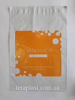 Курьерский пакет 300х400+40 с логотипом в 1 цвет