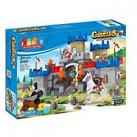 """Конструктор с большими деталями JDLT (LEGO Duplo) """"Замок рыцарей"""" 166 деталей, 5263"""