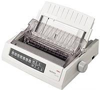 Принтер матричный A4 OKI Microline 3310e, Grey, 9-игольный, до 435 cps (10 cpi) в режиме HSD, LPT / RS-232C, RS-422