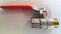 Кран шаровый Kalde (гайка-штуцер) ∅1/2'' ручка