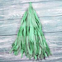 Гирлянды тассел изумрудный, 35 см, 5 шт