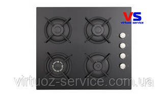 Варочная поверхность газовая VENTOLUX HSF640-N3G CEST (BK)