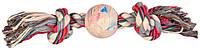 Trixie (Трикси) Playing Rope with Ball Игрушка для собак резиновый мяч на веревке 7 см х 36 см