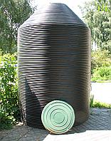 Кольца канализационные пластиковые 1100 мм.
