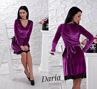 Красивое бархатное платье с кружевом черного цвета, женские праздничные платья оптом
