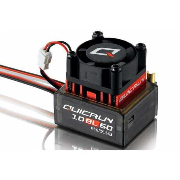 Сенсорный регулятор хода HOBBYWING QUICRUN 10BL60 60A для автомоделей