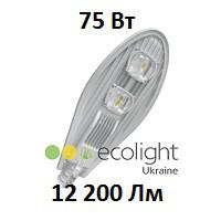 Уличный LED светильник EcoWay 75 12200Lm консольный светодиодный