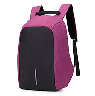 ГАРАНТИЯ КАЧЕСТВА Городской рюкзак Bobby антивор! Фиолетовый.