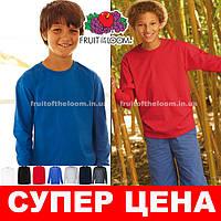 Детская футболка с длинным рукавом 61-007-0