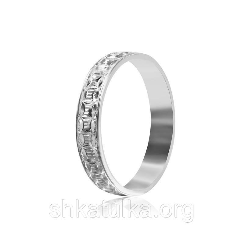 Обручальное кольцо серебряное К2/535 - 16,2