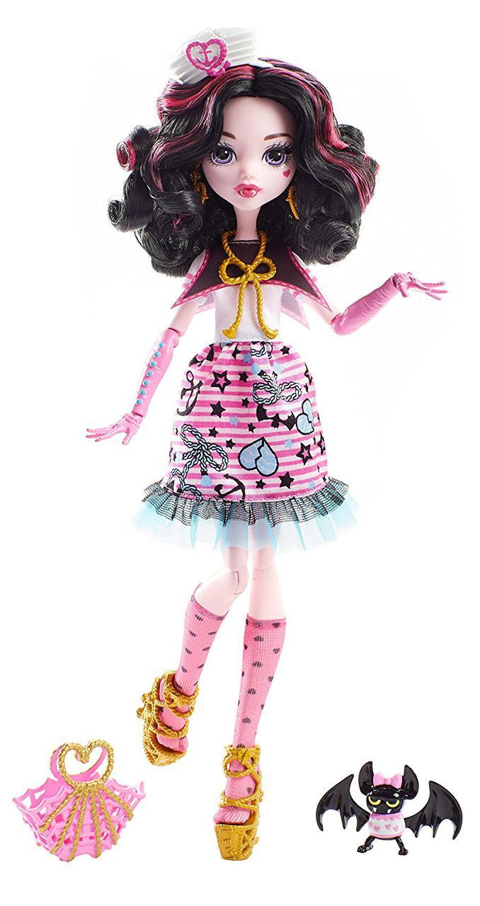 П,Кукла Monster High Draculaura Дракулаура Кораблекрушение Монстр Хай Пираты
