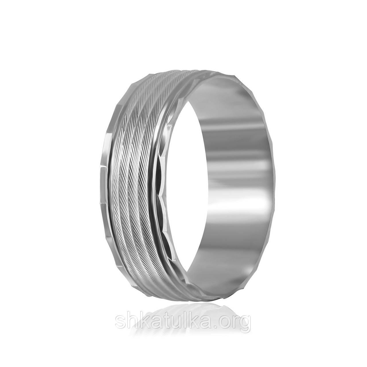 Обручальное кольцо серебряное К2/814 - 15,9