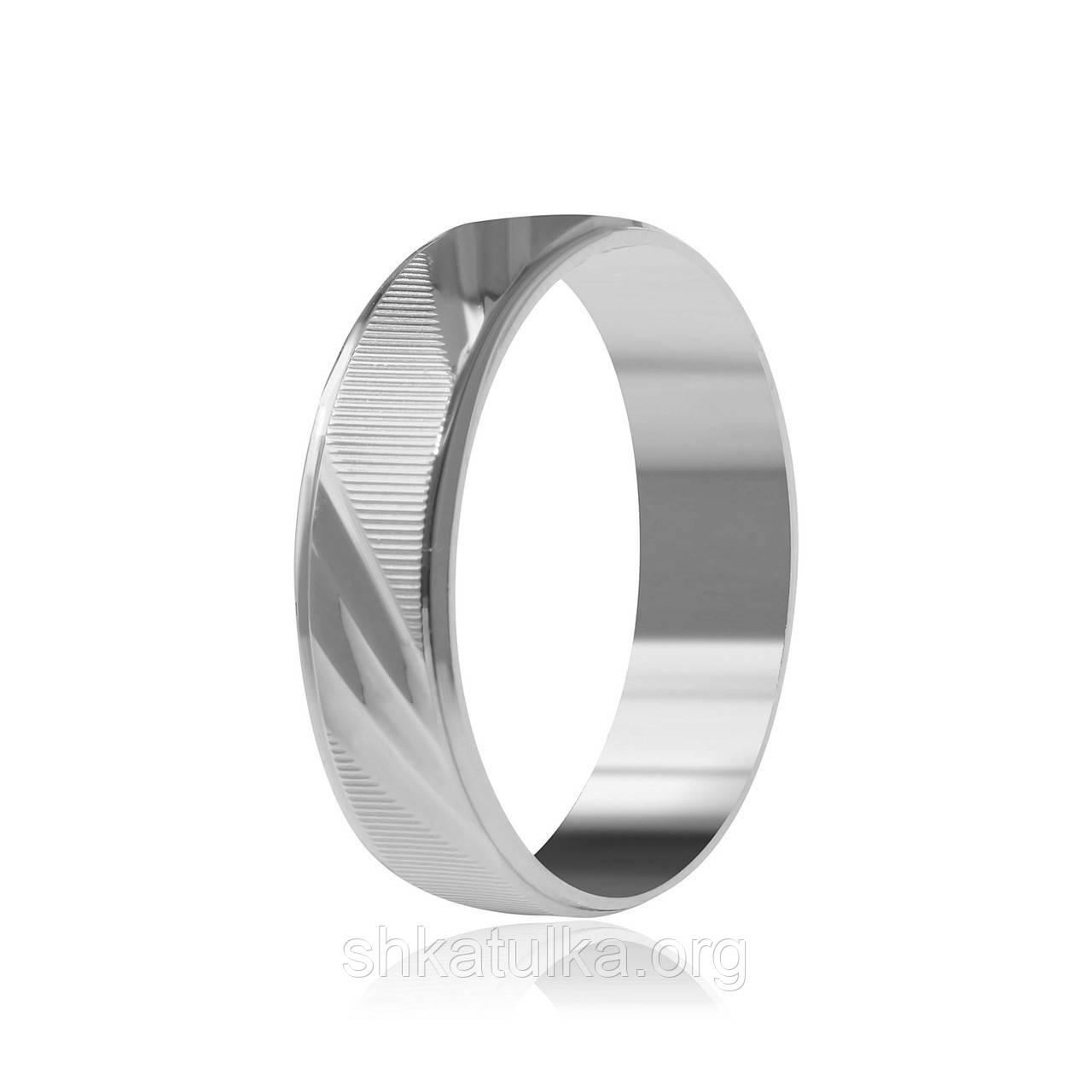 Обручальное кольцо серебряное К2/810 - 16,5