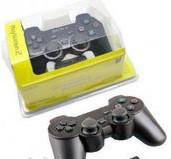 Проводной Джойстик PS2 SONY label (желтый блистер)