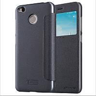 Чехол Nillkin для Xiaomi Redmi 4X книжка оригинальный Sparkle Series Gray