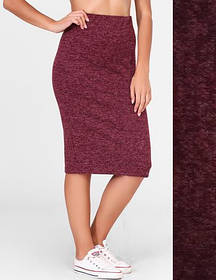 Женская юбка Rich из ангоры размер 42-44, 46-48 цвет бордо