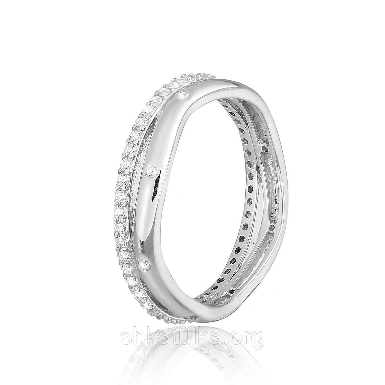 Серебряное кольцо с фианитом К2Ф/243