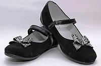 Школьная обувь для девочекТуфли нарядные для девочки 1063/27/черный с б в наличии 27 р., также есть: 27,31,32,33,34,35,36, Palaris_Дітекс