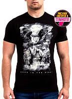 Стильная футболка с светящимся рисунком для мужчин