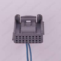 Разъем электрический 16-и контактный (22-10) б/у 1379665