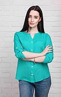 Рубашка в крапинку Зеленая Арт.: 324-2