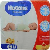 Huggies Classic (2) Mega 3-6 kg 88 штук