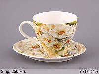 Чайный набор Lefard Магнолия 2 предмета 200 мл, 770-015