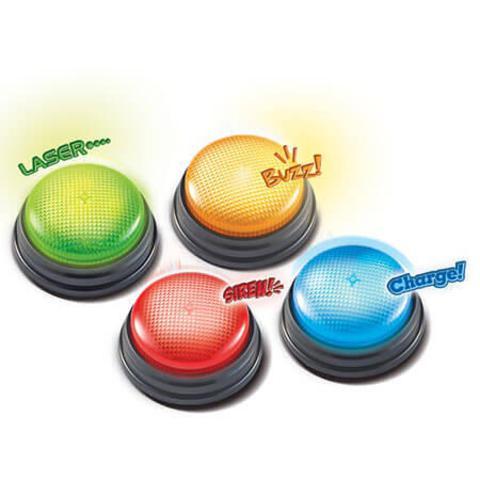 """Гигантские кнопки """"Свет и звук"""" от Learning Resources LER 3776"""