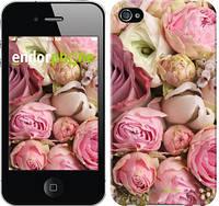 "Чехол на iPhone 4 Розы v2 ""2320c-15-532"""
