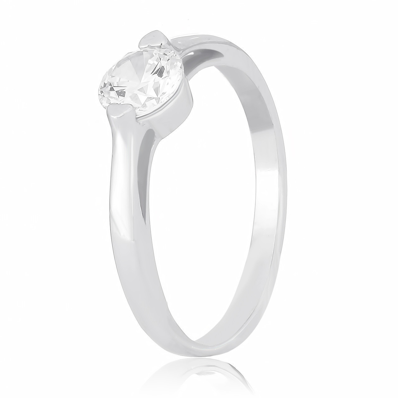 Серебряное кольцо с фианитом К2Ф/731