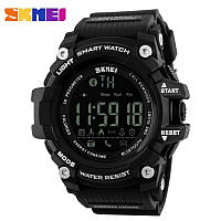 Мужские спортивные часы SKMEI 1227 BLACK. Гарантия 12 месяцев.