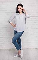 Рубашка в крапинку Белая Арт.: 324-1