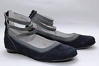 Туфли нарядные для девочки 1185/31/синий нубу в наличии 31 р., также есть: 31,35, Palaris_Родинний - 1