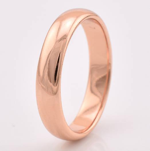 Кольцо обручальное 13872 размер 16, ширина 4 мм, позолота РО ... 3ec7715385a