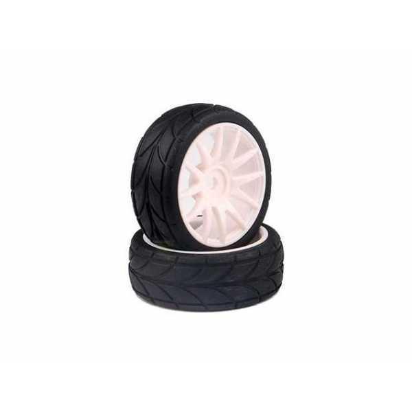White Rim & Tire Complete (82827W+82828) 2P