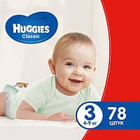 Haggies Classic (3) Mega 4-9 kg 78