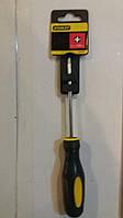Отвертка  BASIC крестообразная РН1х100мм STANLEY