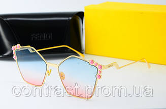 Солнцезащитные очки Fendi 0261 син роз
