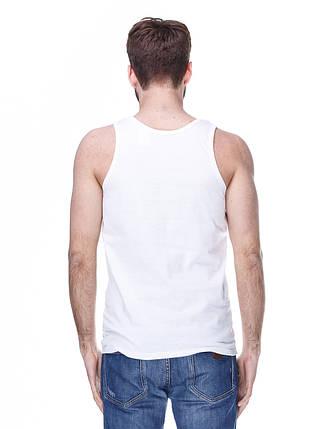 Майка мужская белая, фото 2