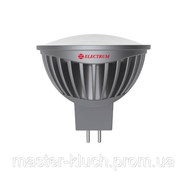 Лампа светодиодная MR-16 Electrum LED LR-19 7W GU5.3 2700К