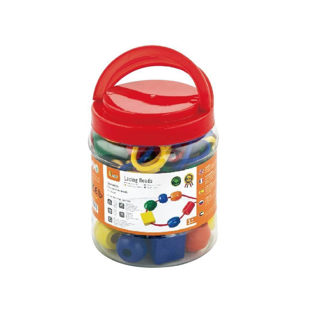 Шнурівка Намистинки 30 шт Viga toys (58466)