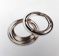 Кільце, люверс 10, 12, 16, 20, 25, 40 мм кругле, тентова фурнітура для банерів, тентів, штор