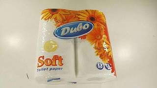 Туалетная бумага  белая 4шт. Диво SOFT