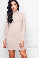 Платье КР-10078-10, (Бежевый)