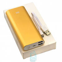 Power Bank Xiaomi 16000 mAh золотистый