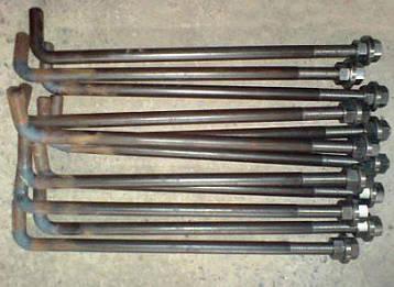 Болт М16 з анкерним плитою гост 24379.1-80, фото 2