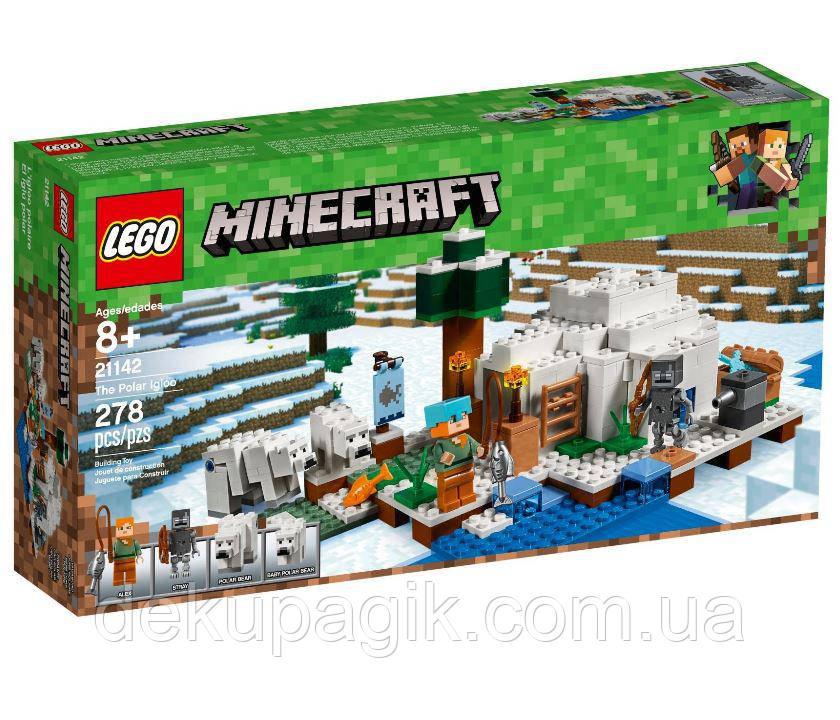 Lego Minecraft Иглу 21142