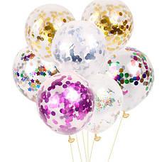 Прозрачные шары без рисунка Deco Bubble Bobo Baloons